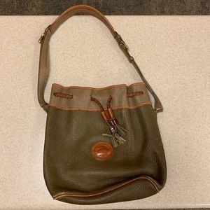 Vintage Dooney & Bourke drawstring bag